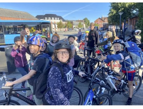 4.kl cykellejr efterår 2020