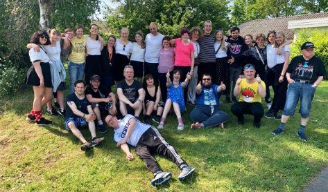 7.klasse lejrskole i Ålestrup - pause.2