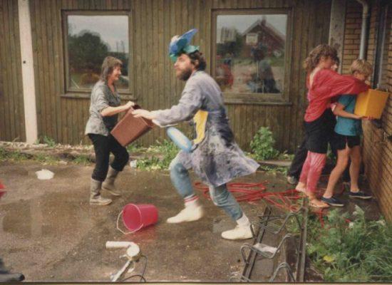 90'er sidste skoledag vandkamp
